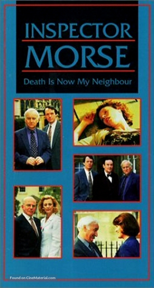 """""""Inspector Morse"""" - VHS movie cover"""