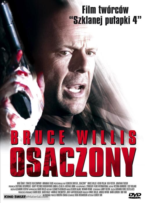 Hostage - Polish DVD cover