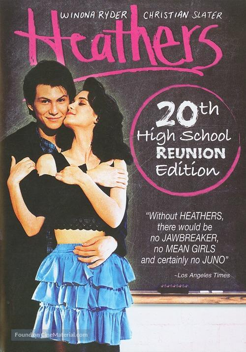 Heathers - DVD movie cover