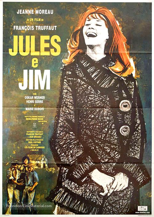 Jules Et Jim - Italian Movie Poster