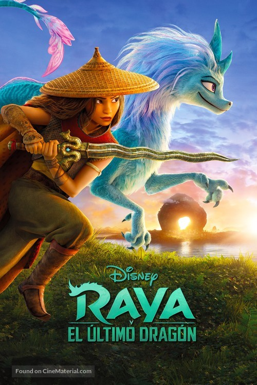 Raya and the Last Dragon - Spanish Video on demand movie cover