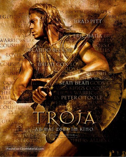 Troy - German Movie Poster