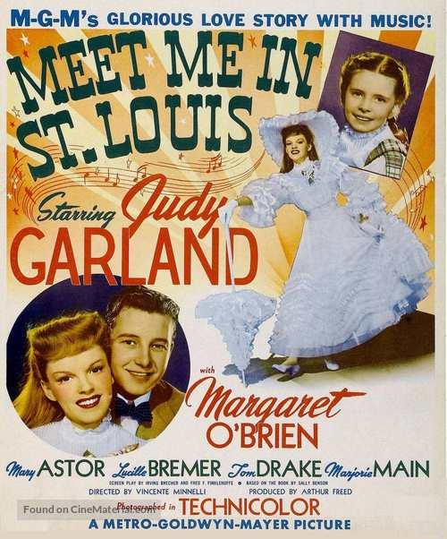 Meet Me in St. Louis - Movie Poster
