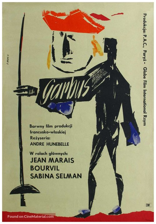 Bossu, Le - Polish Movie Poster