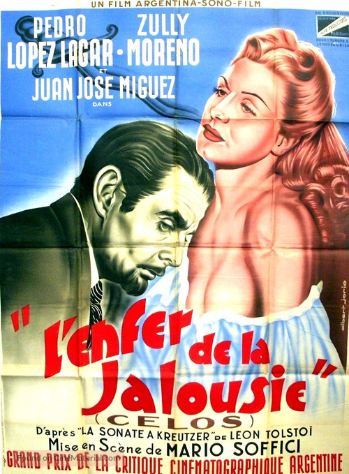 Celos - French Movie Poster