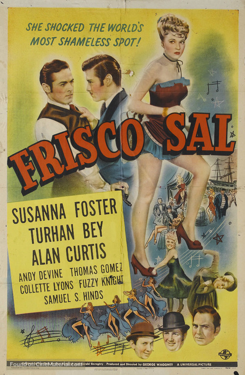 Frisco Sal - Movie Poster