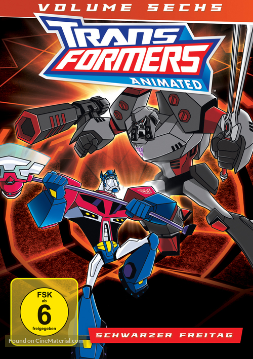 """""""Transformers: Animated"""" - German Movie Cover"""