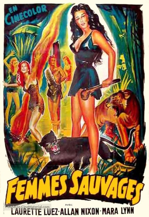 Prehistoric Women - French Movie Poster
