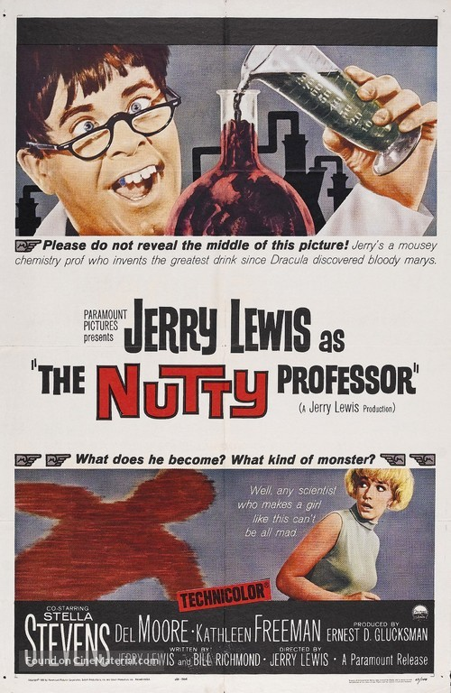 The Nutty Professor - Movie Poster