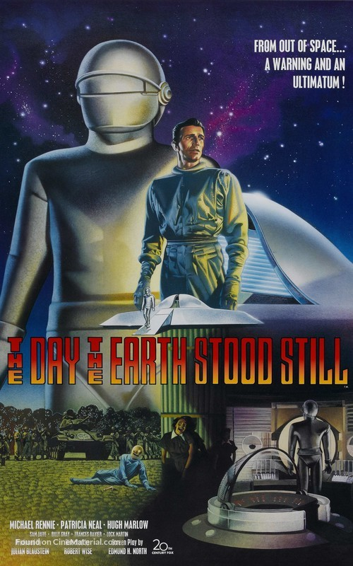 The Day the Earth Stood Still - Re-release movie poster