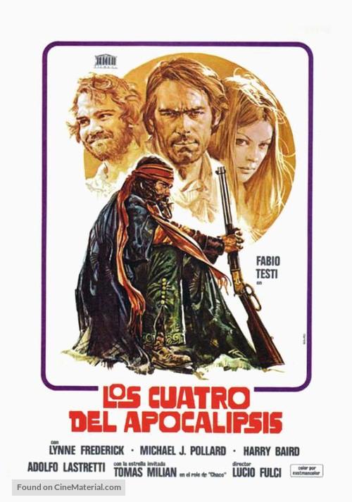 Quattro dell'apocalisse, I - Spanish Movie Poster