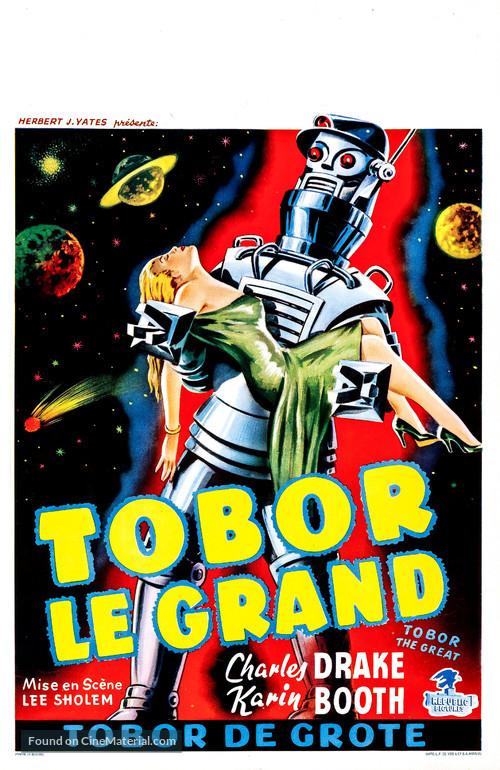 Tobor the Great - Belgian Movie Poster