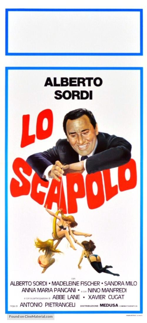Scapolo, Lo - Italian Movie Poster