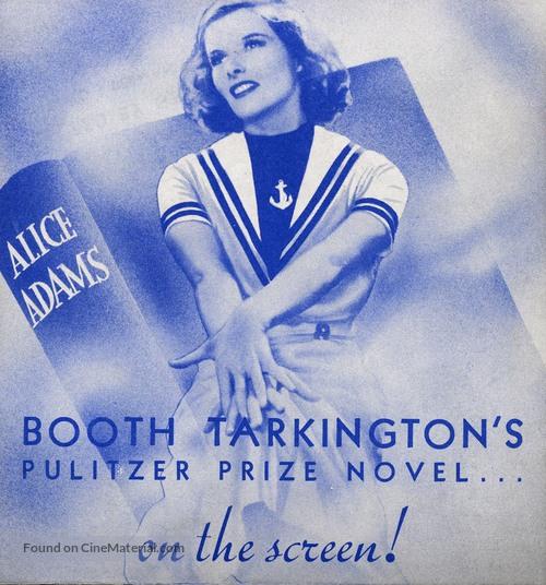Alice Adams - poster