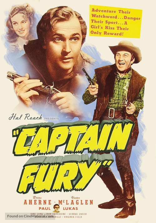 Captain Fury - Movie Poster