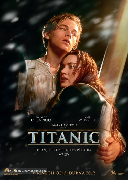 Titanic - Czech Movie Poster
