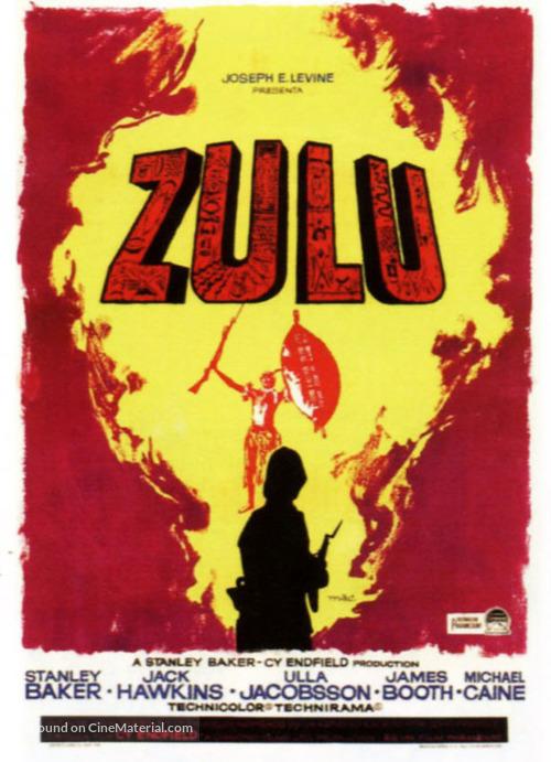 Zulu - Spanish Movie Poster