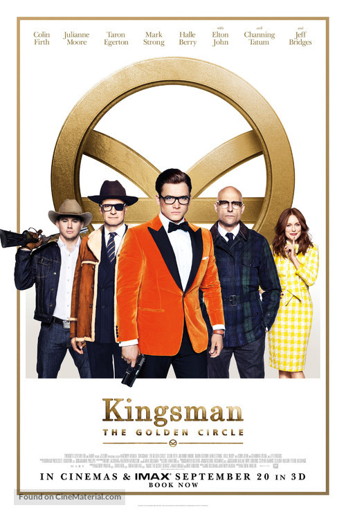 Kingsman: The Golden Circle - British Movie Poster
