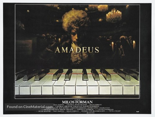 Amadeus - French Movie Poster