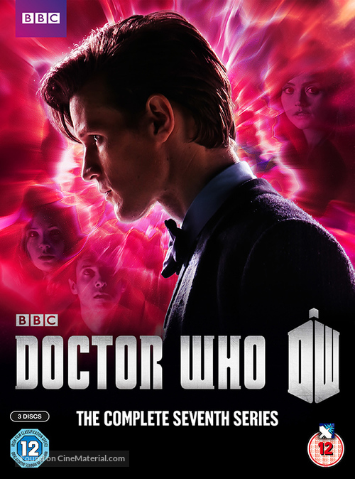 """""""Doctor Who"""" - British Blu-Ray movie cover"""
