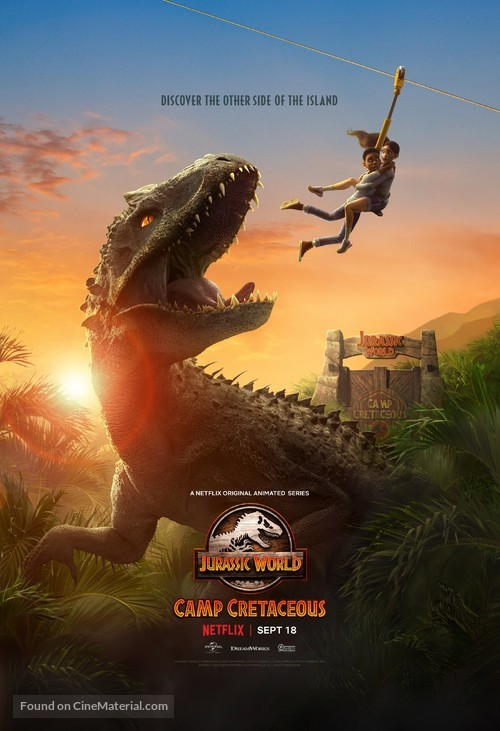 """Jurassic World: Camp Cretaceous"" - Movie Poster"