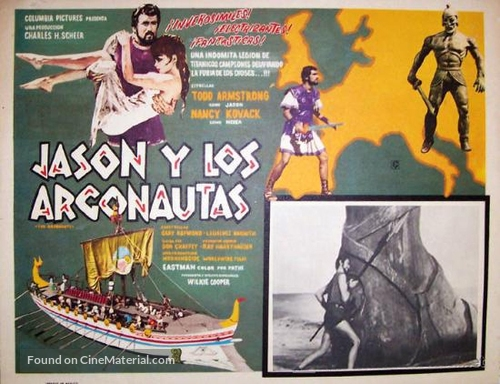Jason and the Argonauts - Mexican Movie Poster