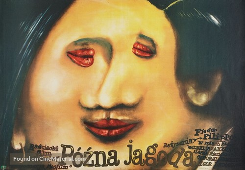 Pozdnyaya yagoda - Polish Movie Poster
