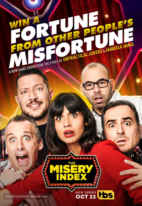 """""""The Misery Index"""" - Movie Poster"""