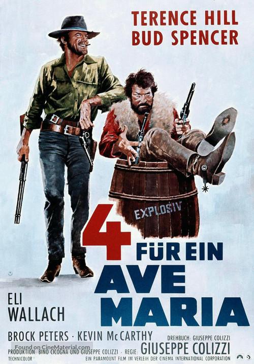I quattro dell'Ave Maria - German Movie Poster