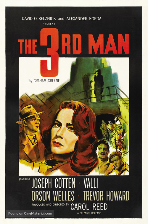 The Third Man - Movie Poster