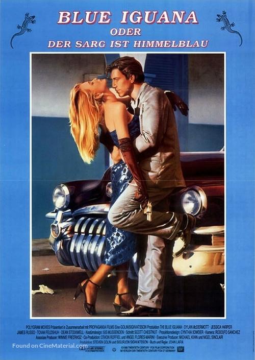 The Blue Iguana - German Movie Poster