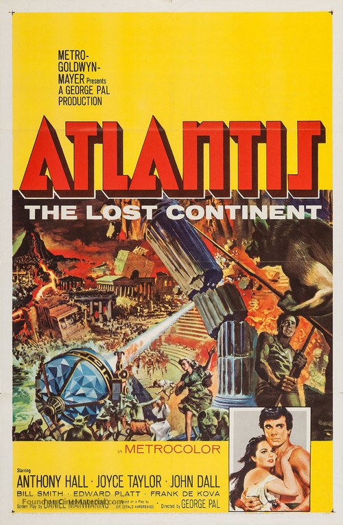 Atlantis, the Lost Continent - Movie Poster