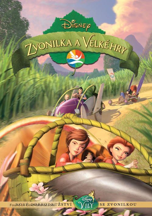 Pixie Hollow Games - Czech DVD movie cover