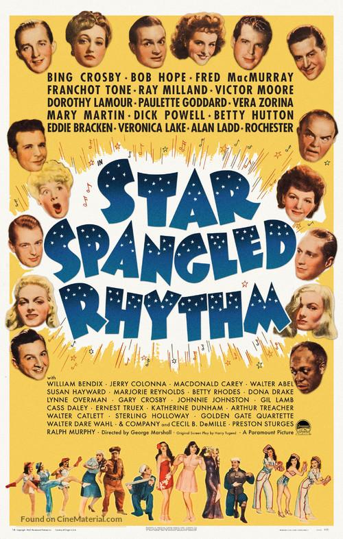 Star Spangled Rhythm - Movie Poster