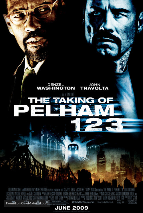 The Taking of Pelham 1 2 3 - Movie Poster