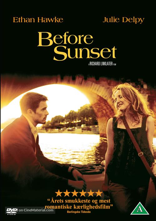 Before Sunset - Danish Movie Cover