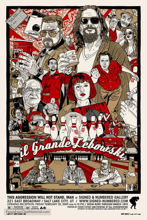 The Big Lebowski - Movie Poster