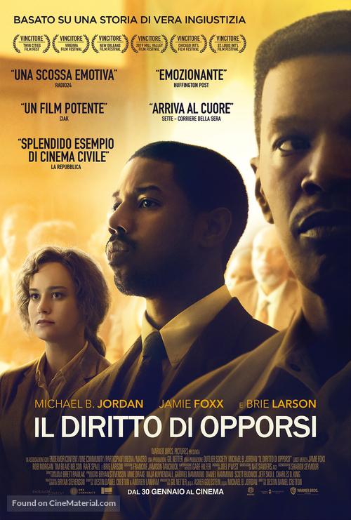 Just Mercy - Italian Movie Poster