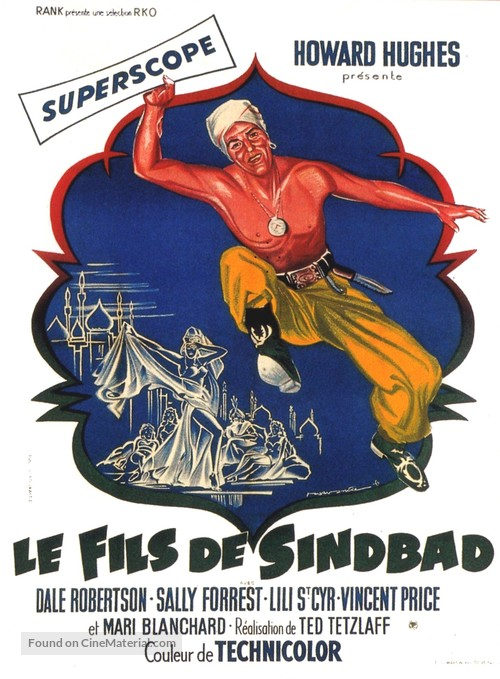 Son of Sinbad - French Movie Poster