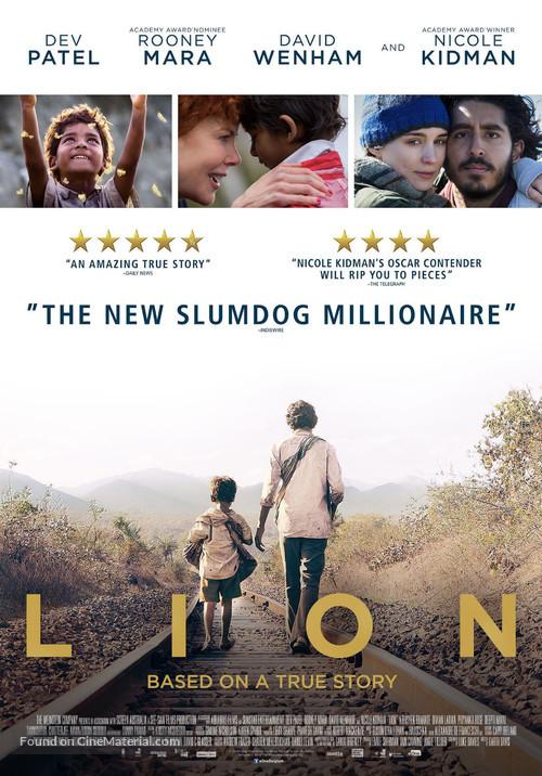 Lion - Belgian Movie Poster