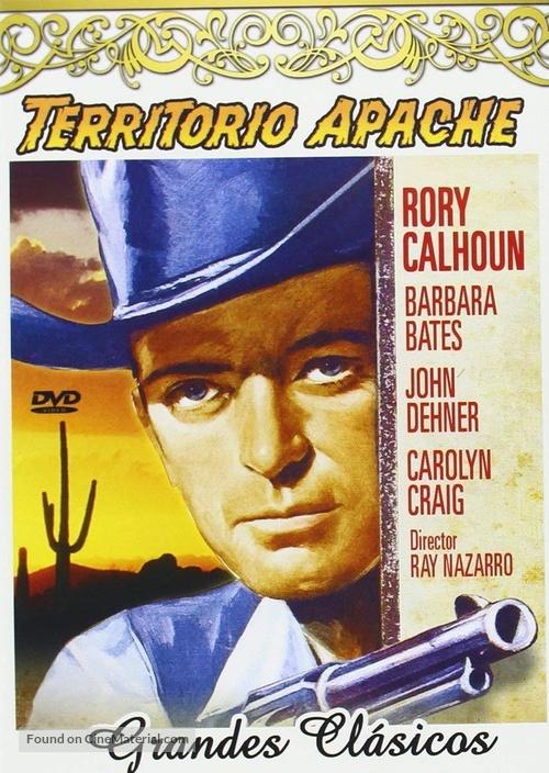 Apache Territory - Spanish DVD movie cover