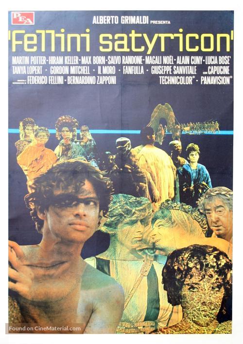 "Movie poster, Fellini's ""Satyricon"", 1969 | Satyricon: Three ..."