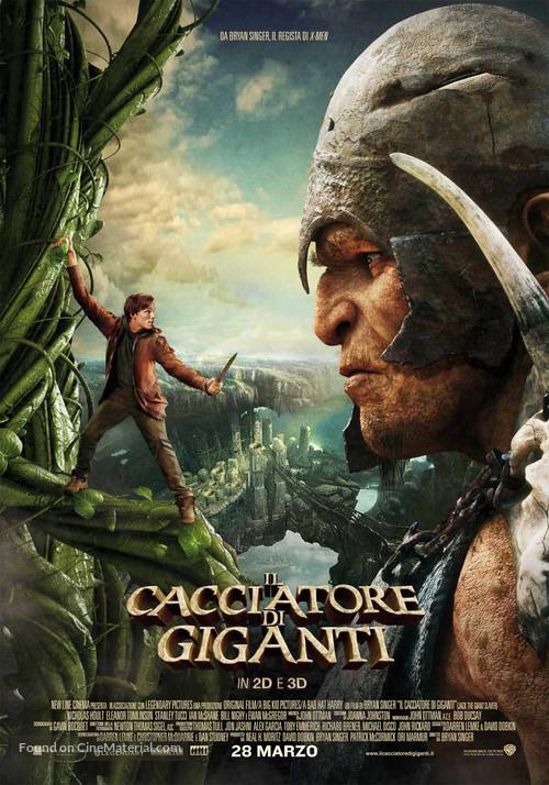 Jack the Giant Slayer - Italian Movie Poster
