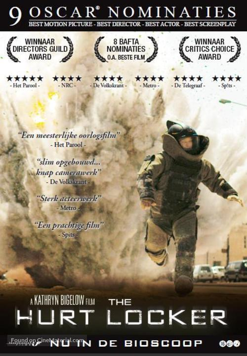 The Hurt Locker Dutch movie poster