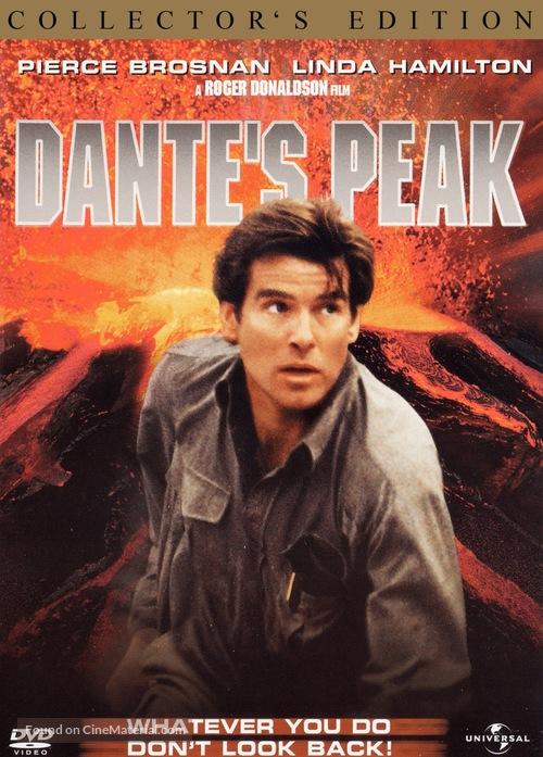 Dante's Peak - DVD movie cover