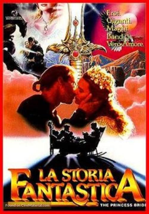 The Princess Bride - Italian Movie Poster