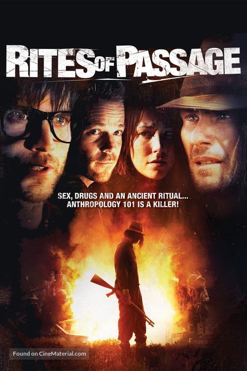 Rites of Passage - DVD cover