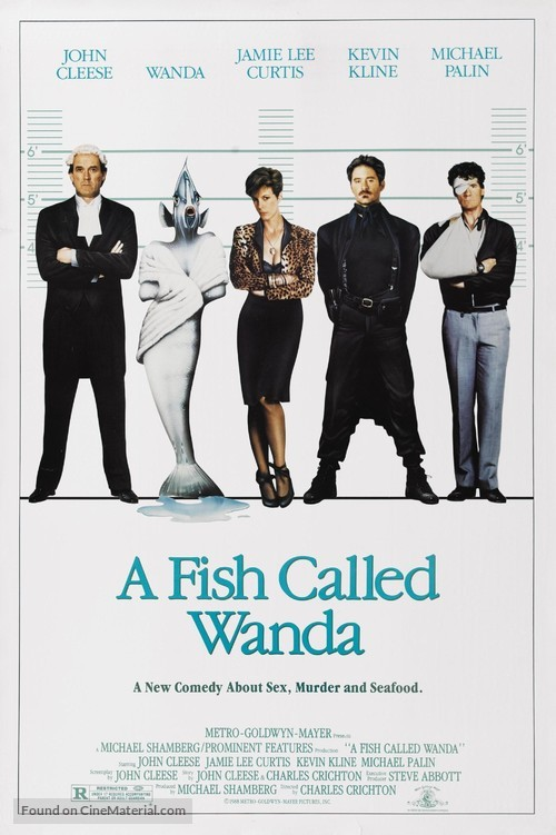 A Fish Called Wanda - Movie Poster