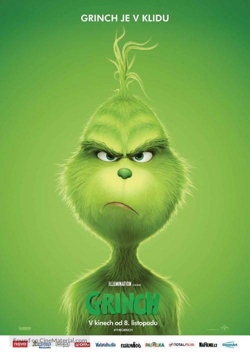 The Grinch - Czech Movie Poster