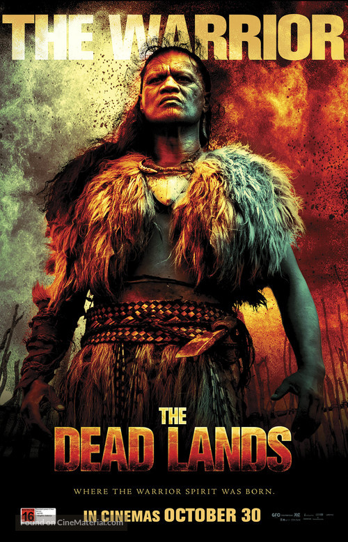 The Dead Lands - New Zealand Movie Poster